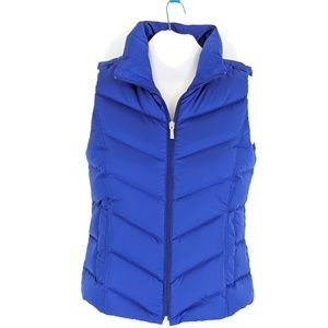 Lands End Small6/8 Tall or Petite Down Puffer Vest